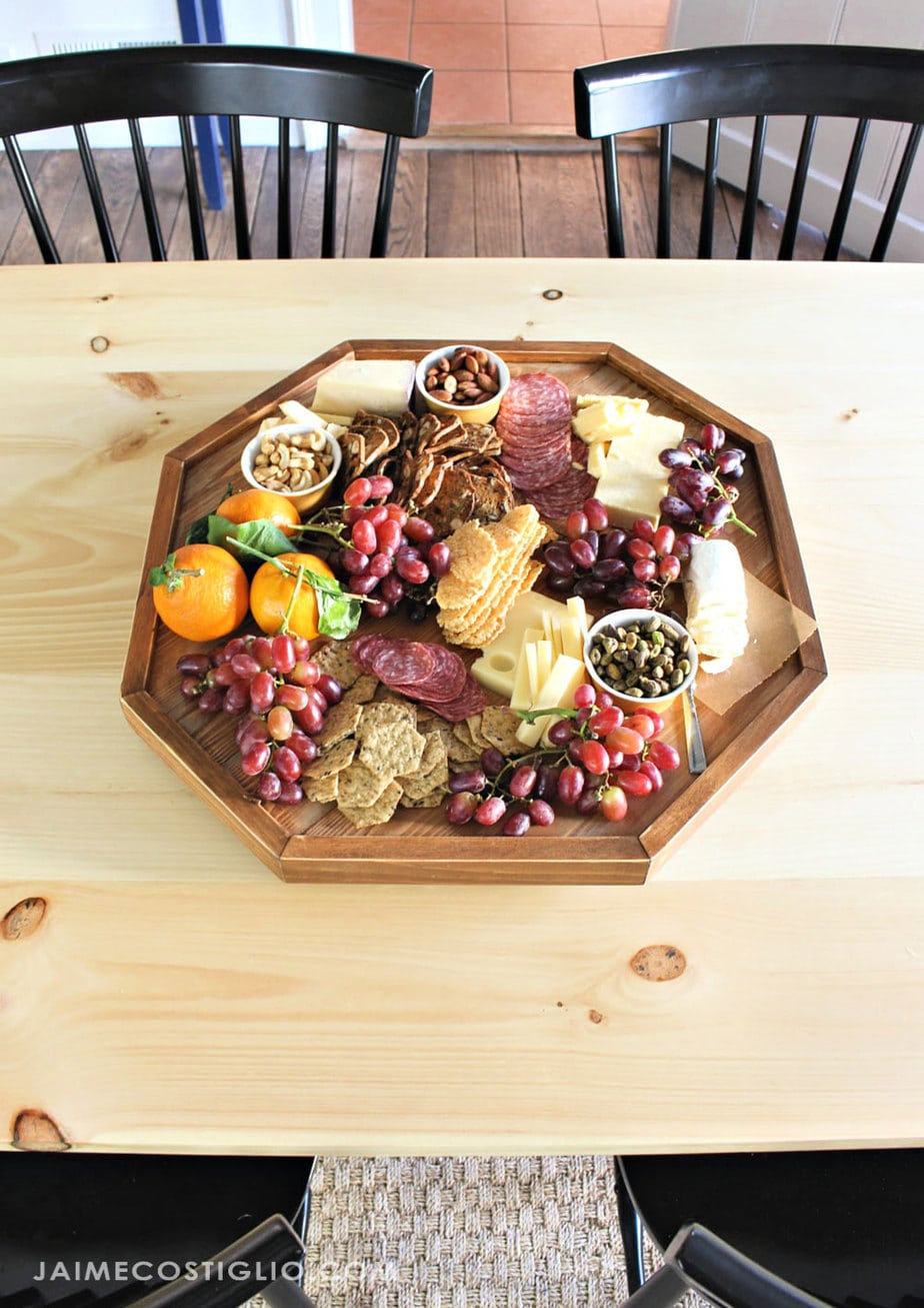 modern tabletop lazy susan