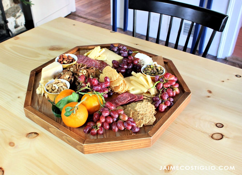 charcuterie serving tray