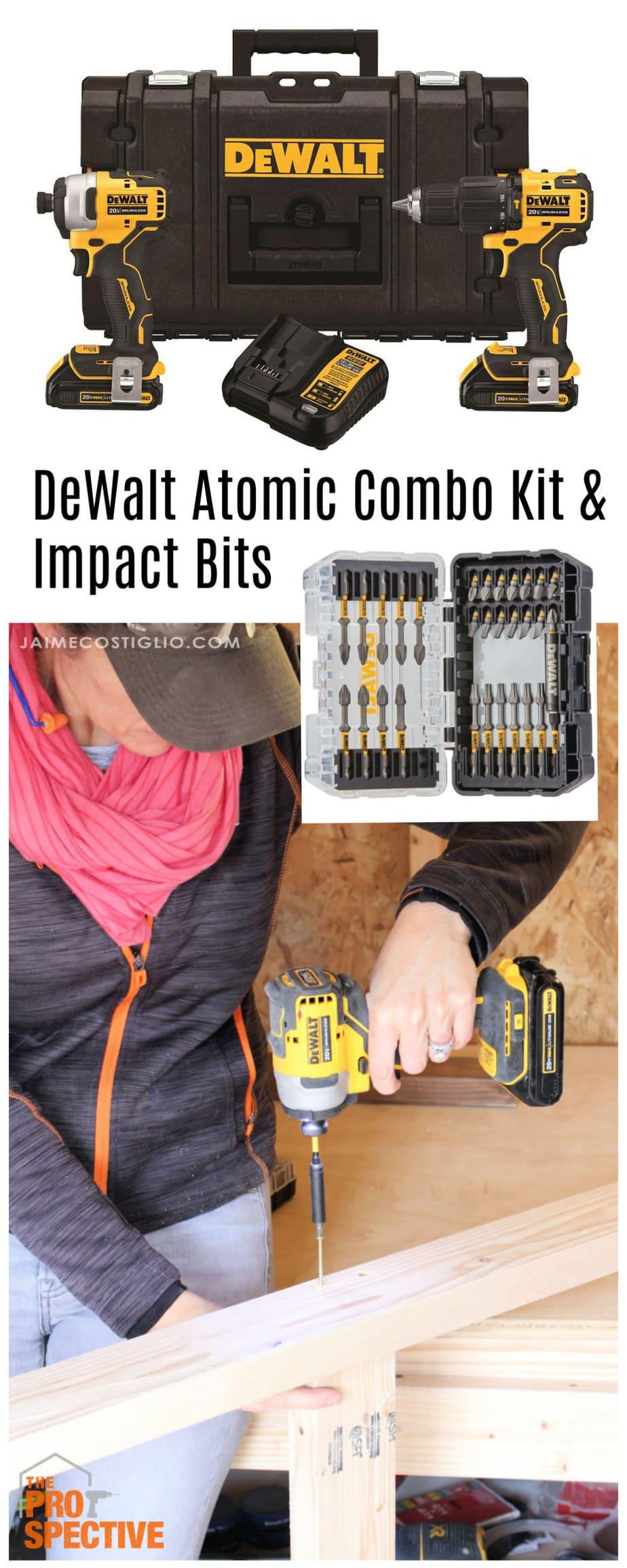 Dewalt Atomic combo set and impact bits