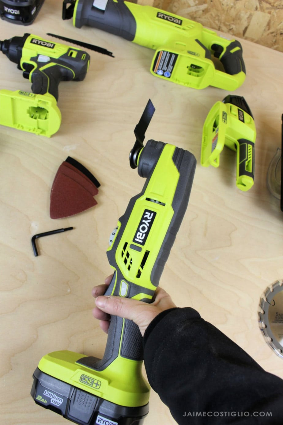 Ryobi cordless multi-tool