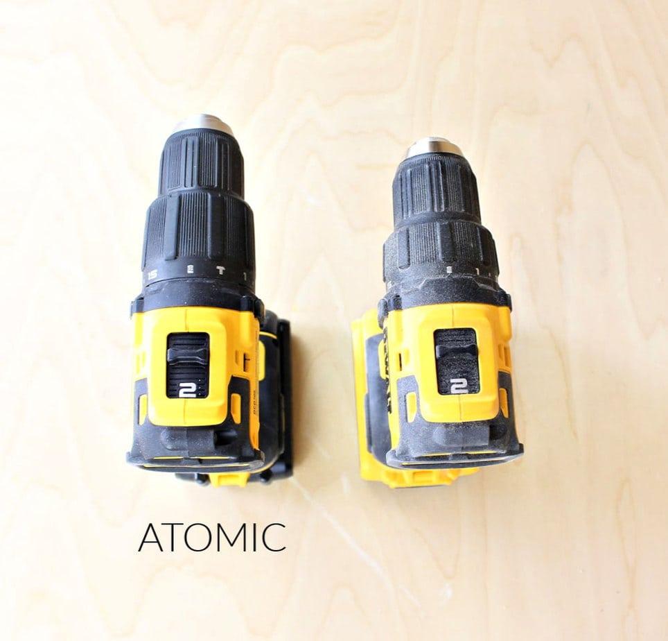 atomic drill versus regular drill
