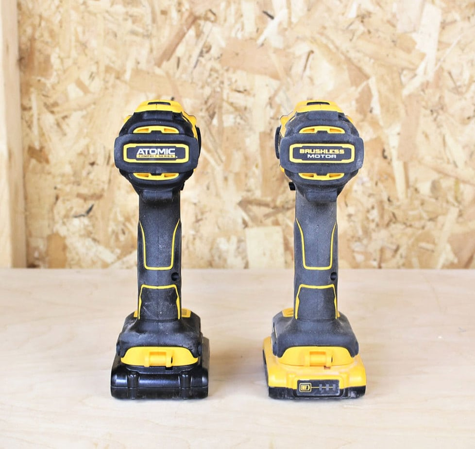 dewalt drill comparison