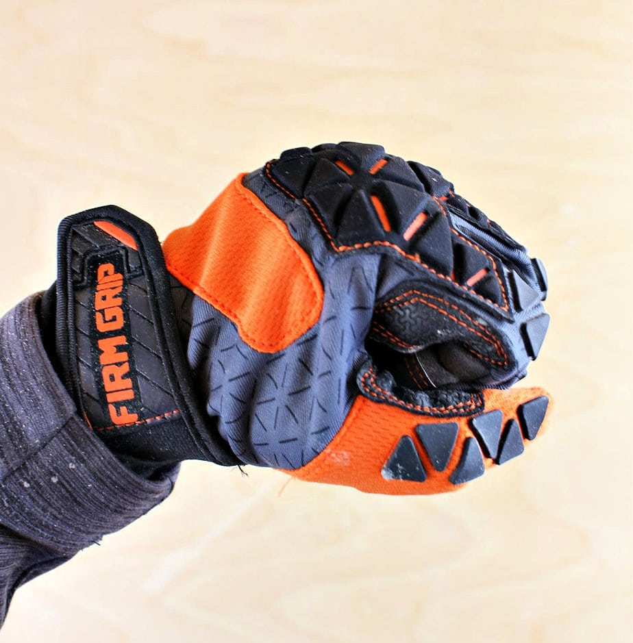 flexible work gloves