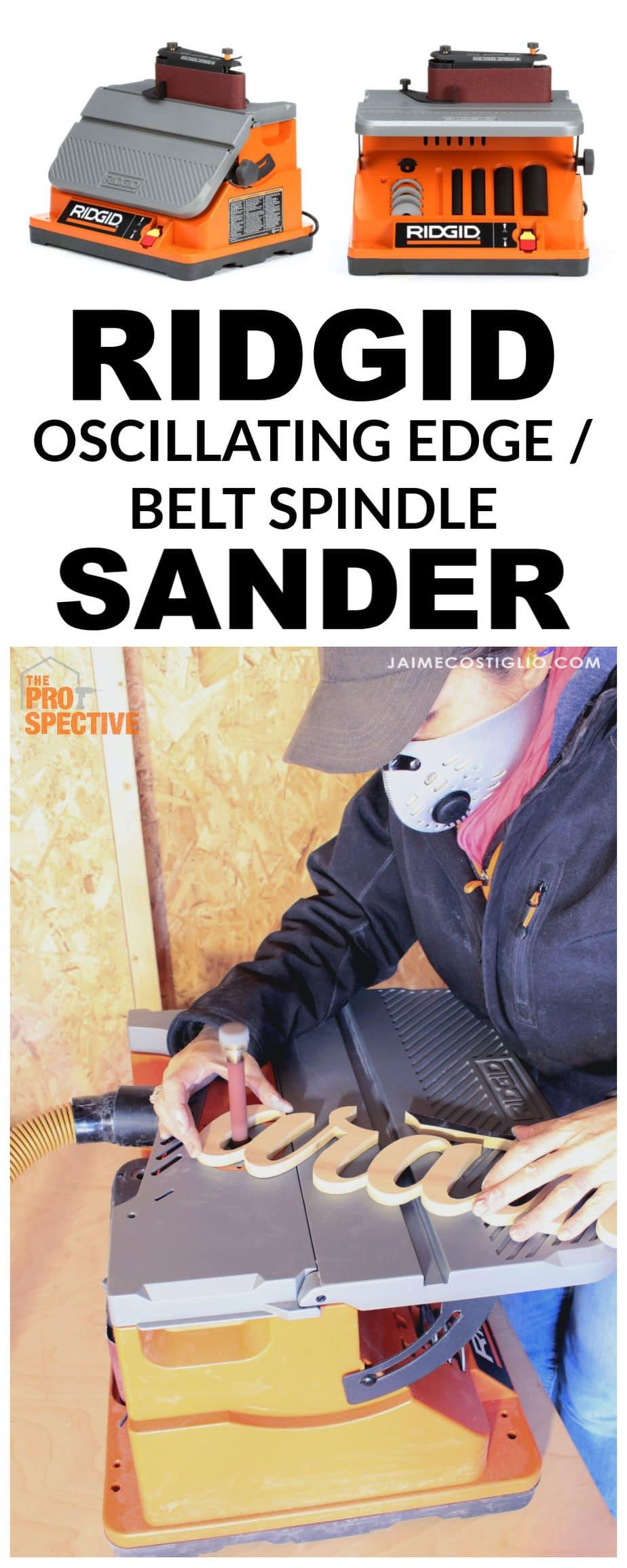 ridgid belt sander