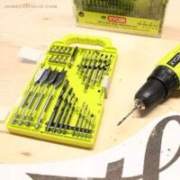 ryobi drill bits feature
