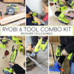 DIY Beginner Tools Bundle: Ryobi 6 Piece Combo Kit
