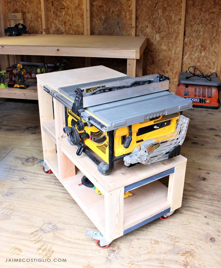 mobile workshop cart