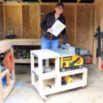 DIY Table Saw Cart Free Plans
