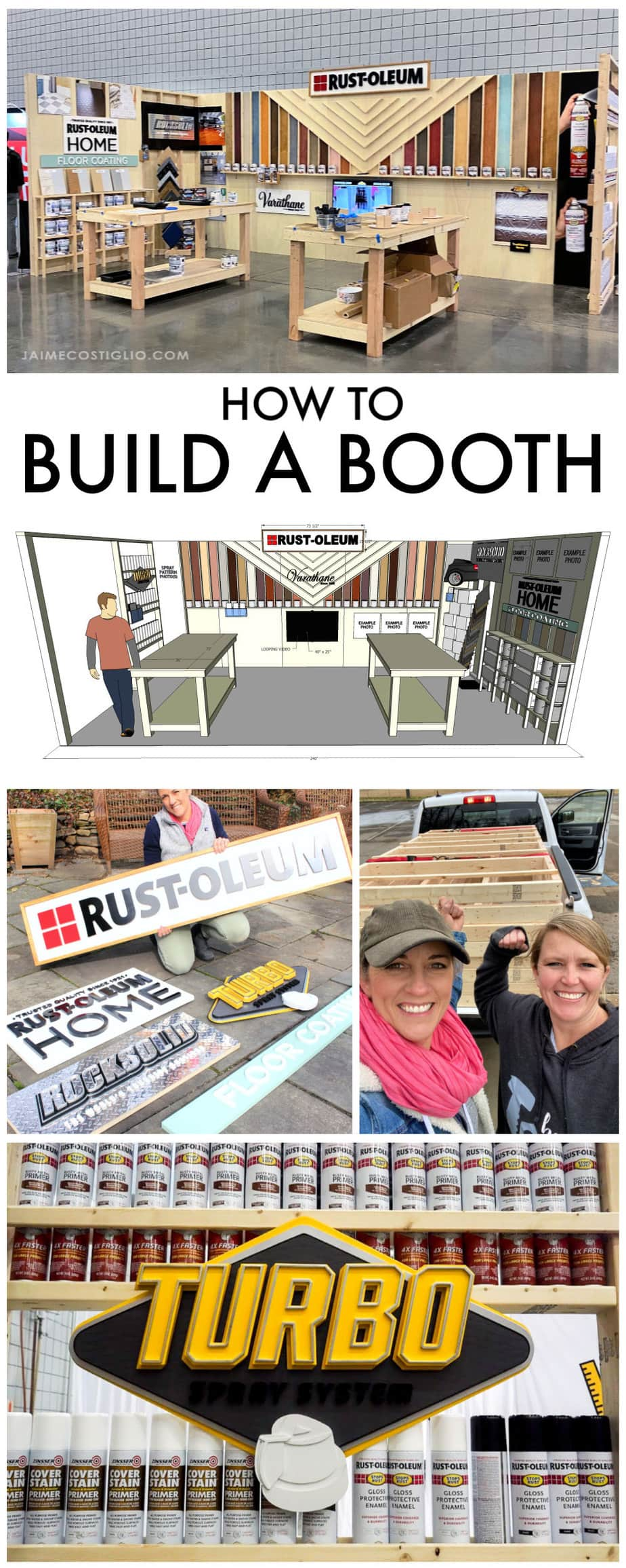 how to build a booth