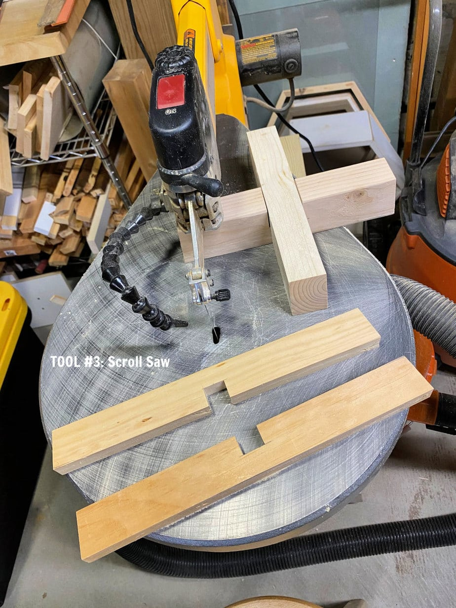 half lap joints on scroll saw