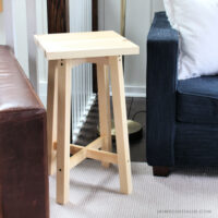 simple square side table