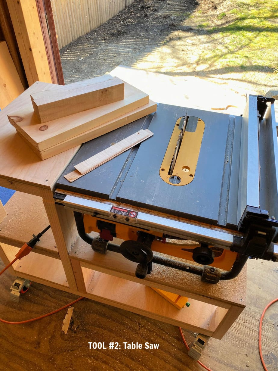 ripping rounded edges on table saw