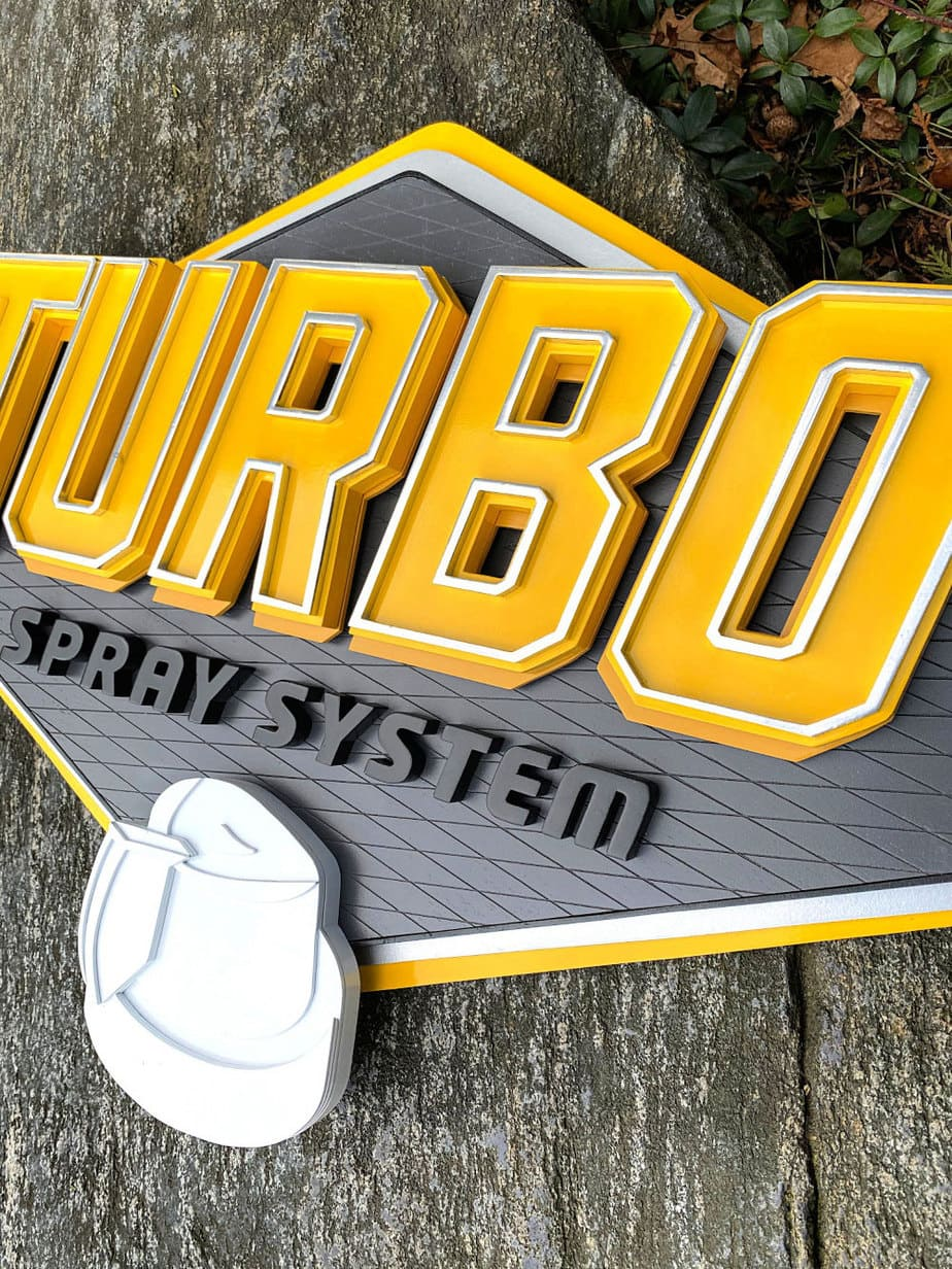 turbo spray paint logo