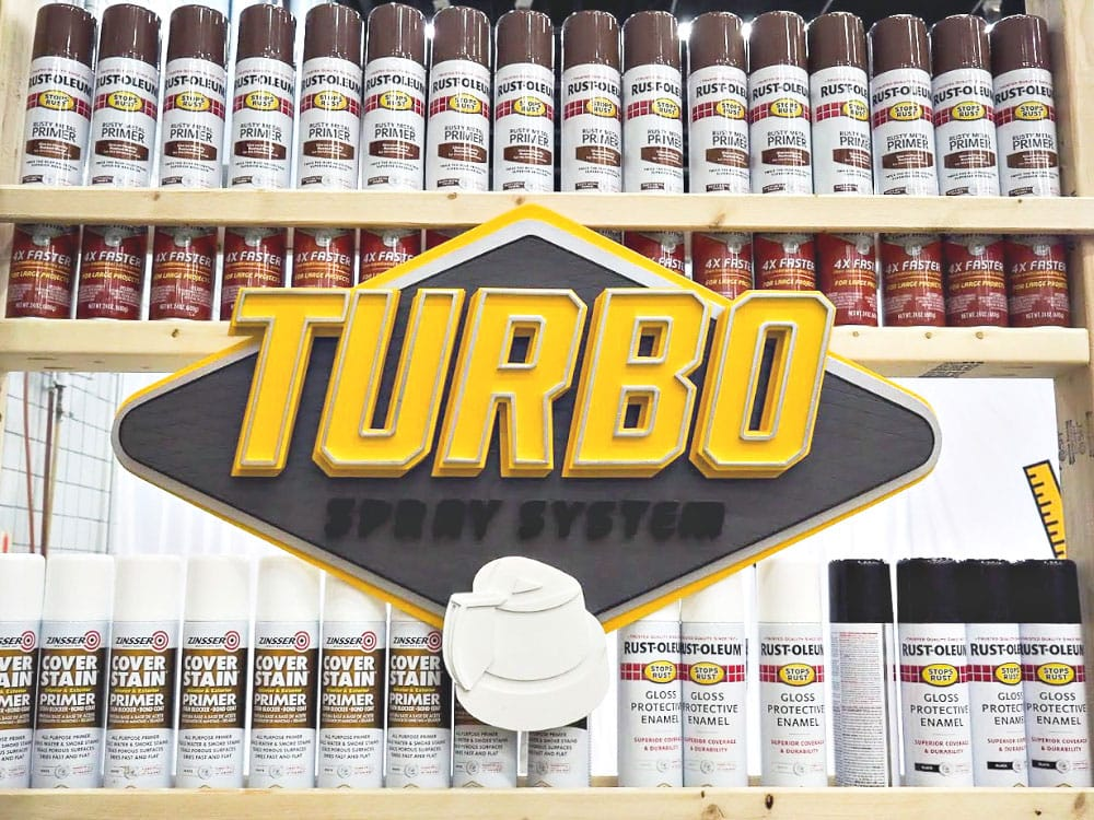 rustoleum turbo booth