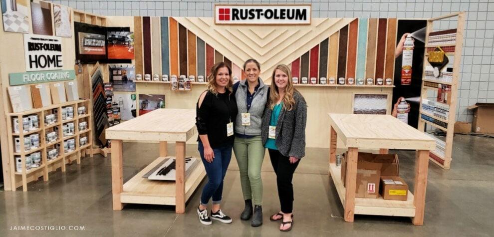 workbenchcon 2020 rustoleum booth complete