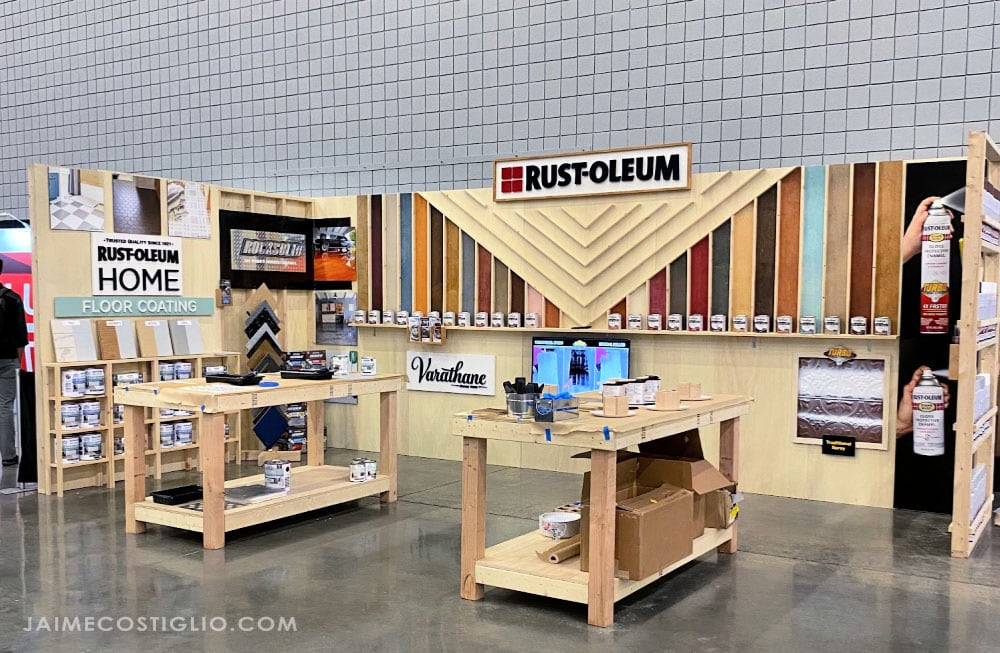 workbenchcon rustoleum booth 2020
