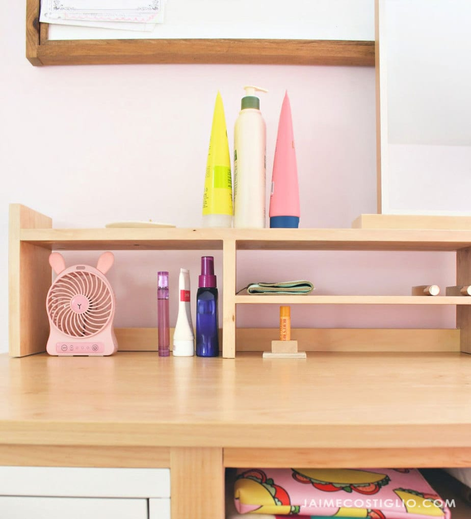 desktop shelf cubbies