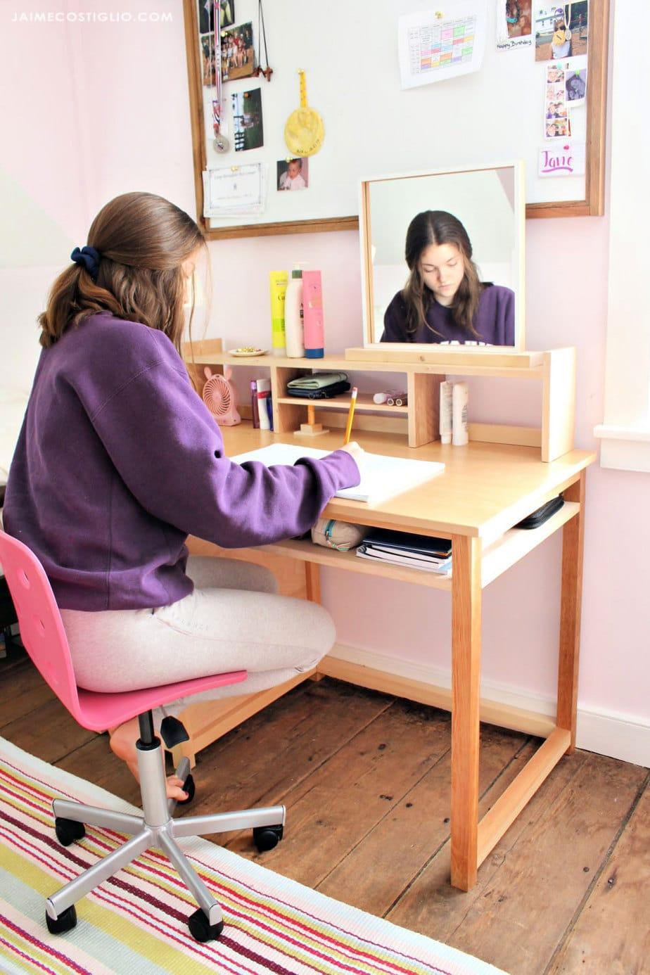 teen diy desk