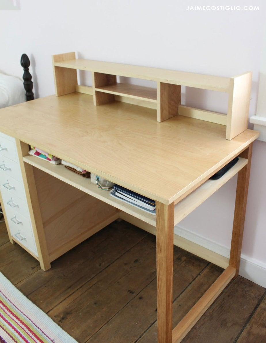 desk topper shelf