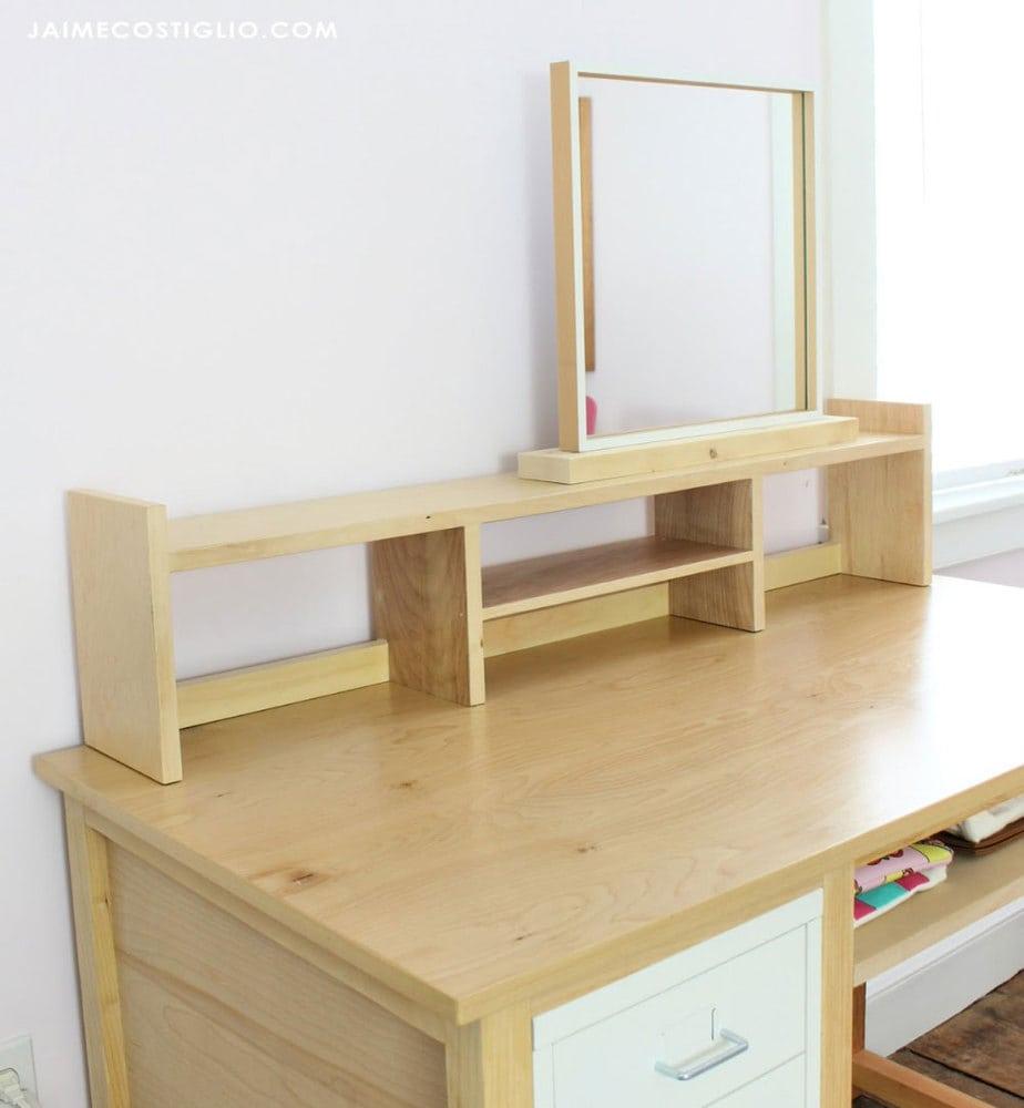 scrap wood shelf