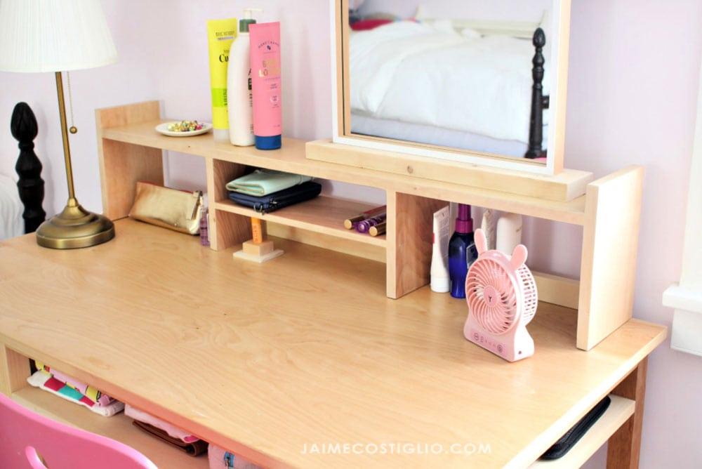 desk topper ledge