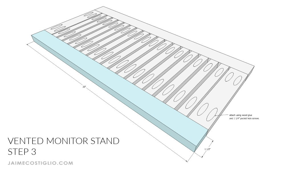 monitor stand step 3
