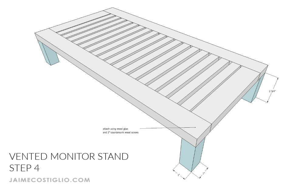 monitor stand step 4