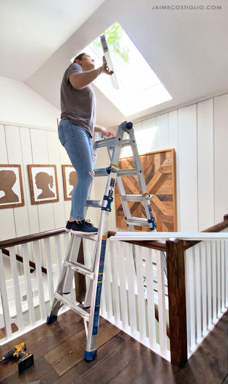 stairway stepladder