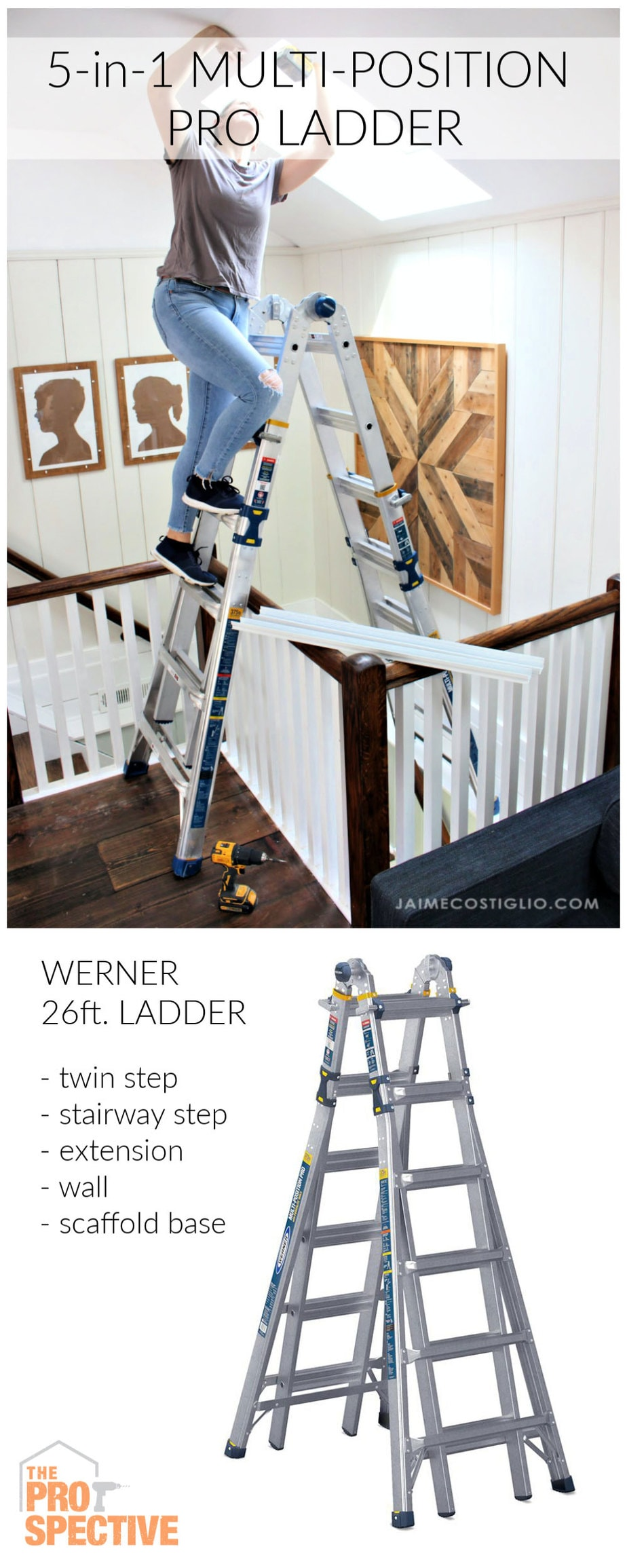26 ft. multi-position pro ladder