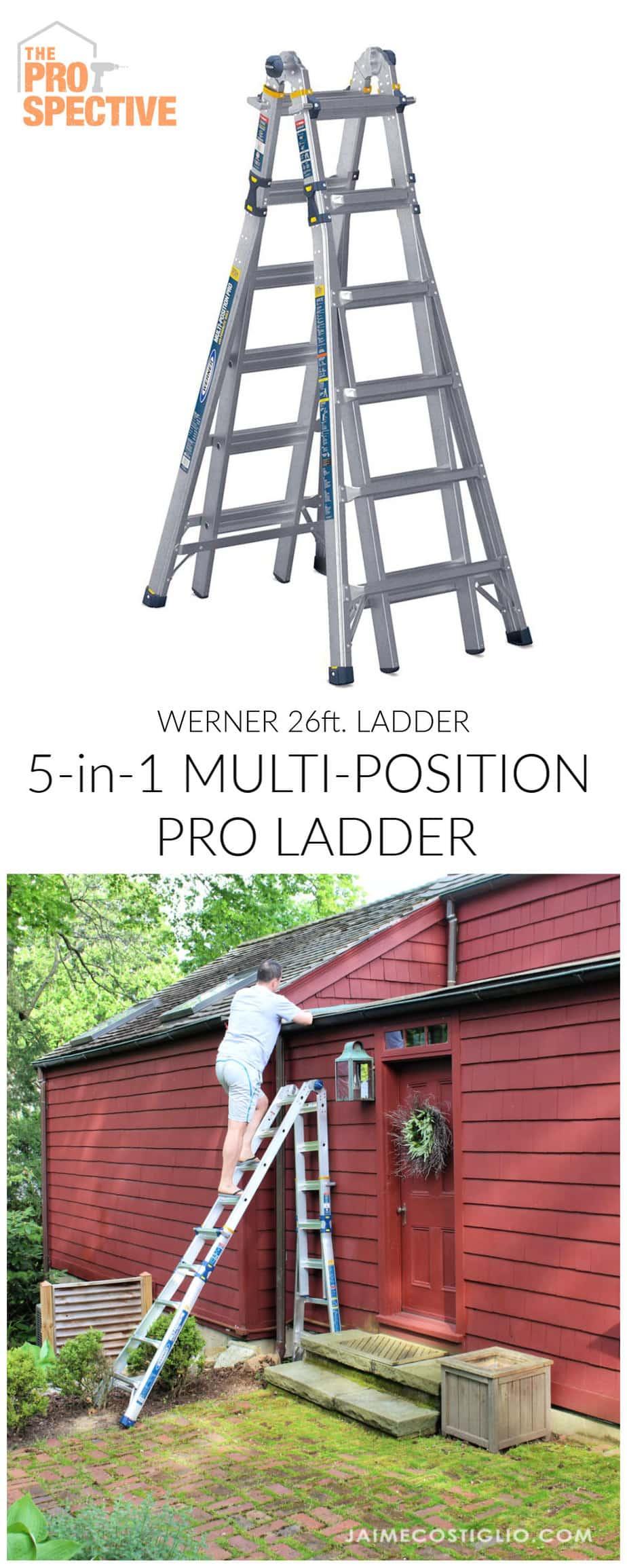 Werner multi position ladder