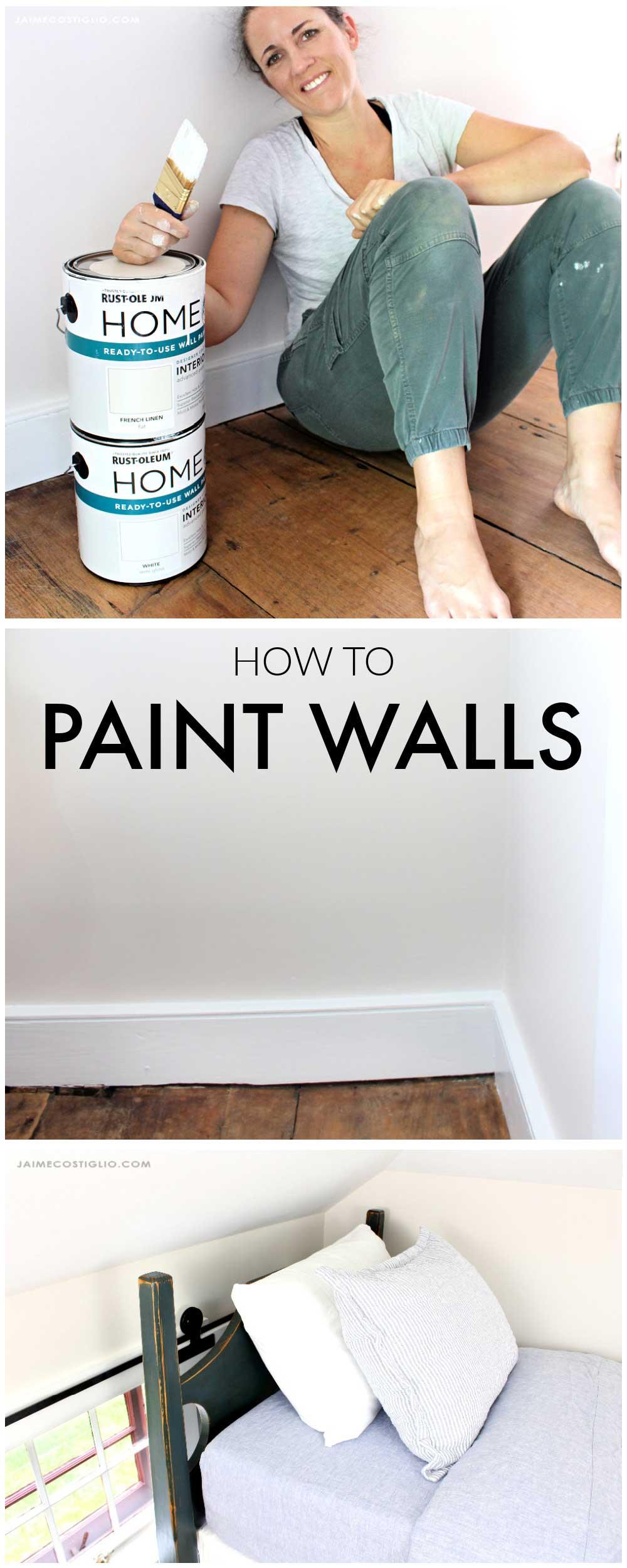 diy painted walls