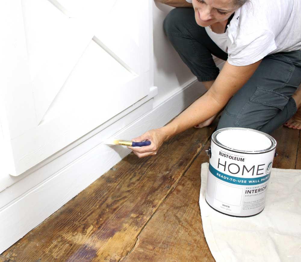rustoleum home paint on trim