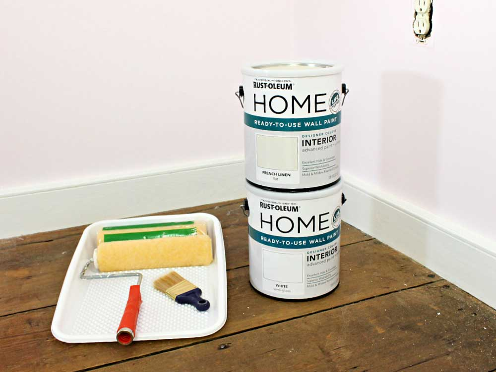 painting walls supplies