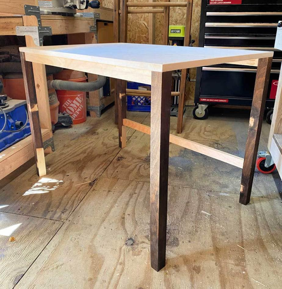 modern desk base and legs