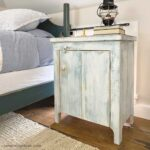 DIY Primitive Nightstand with Plans