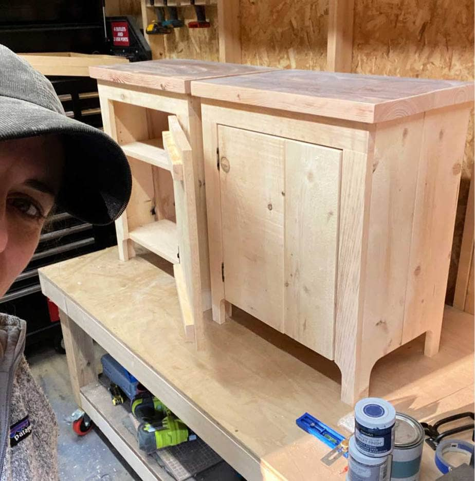jaime Costiglio builds nightstands