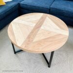 Coffee Table Makeover using Plywood Scraps