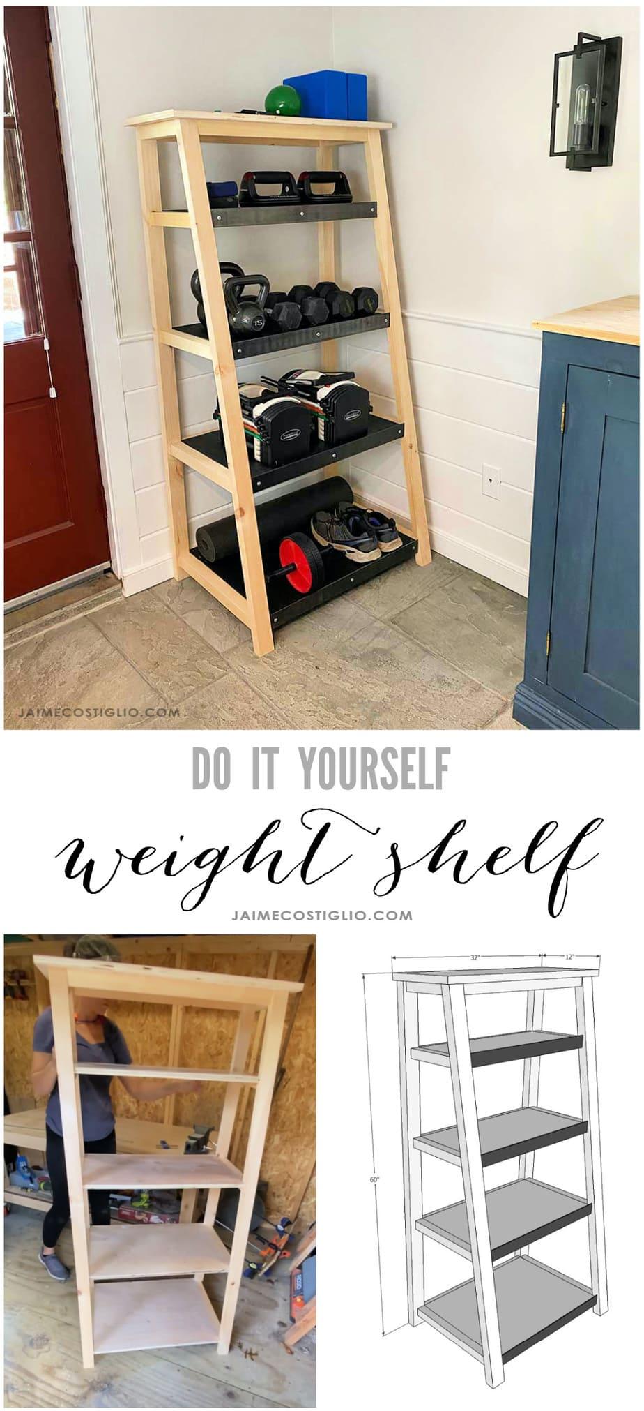 build a weight shelf