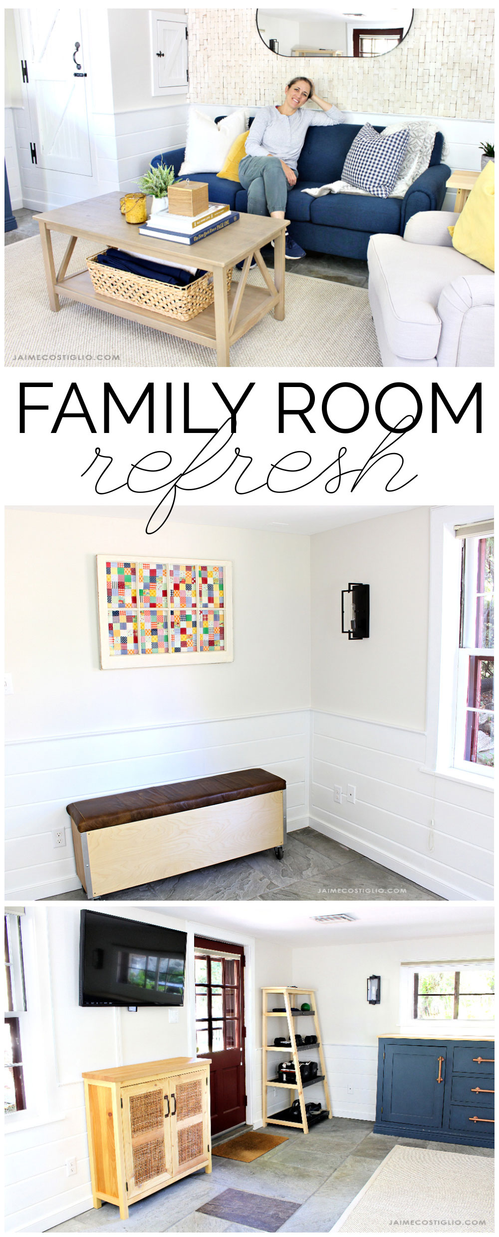 diy family room updates