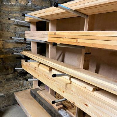 lumber rack detail