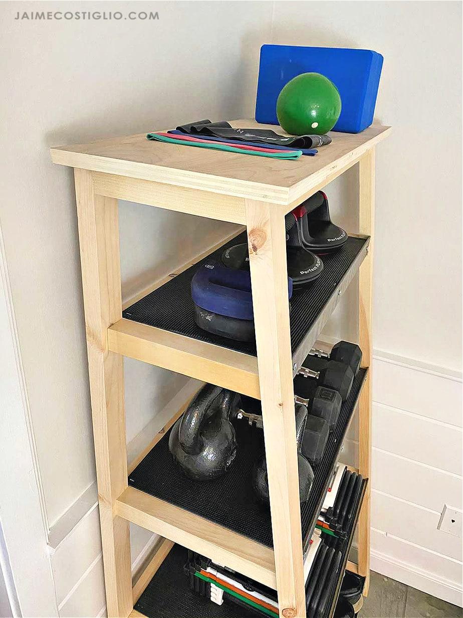 diy tiered storage