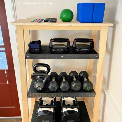 weight shelf detail