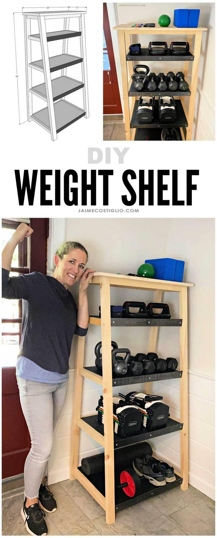 diy weight shelf plans