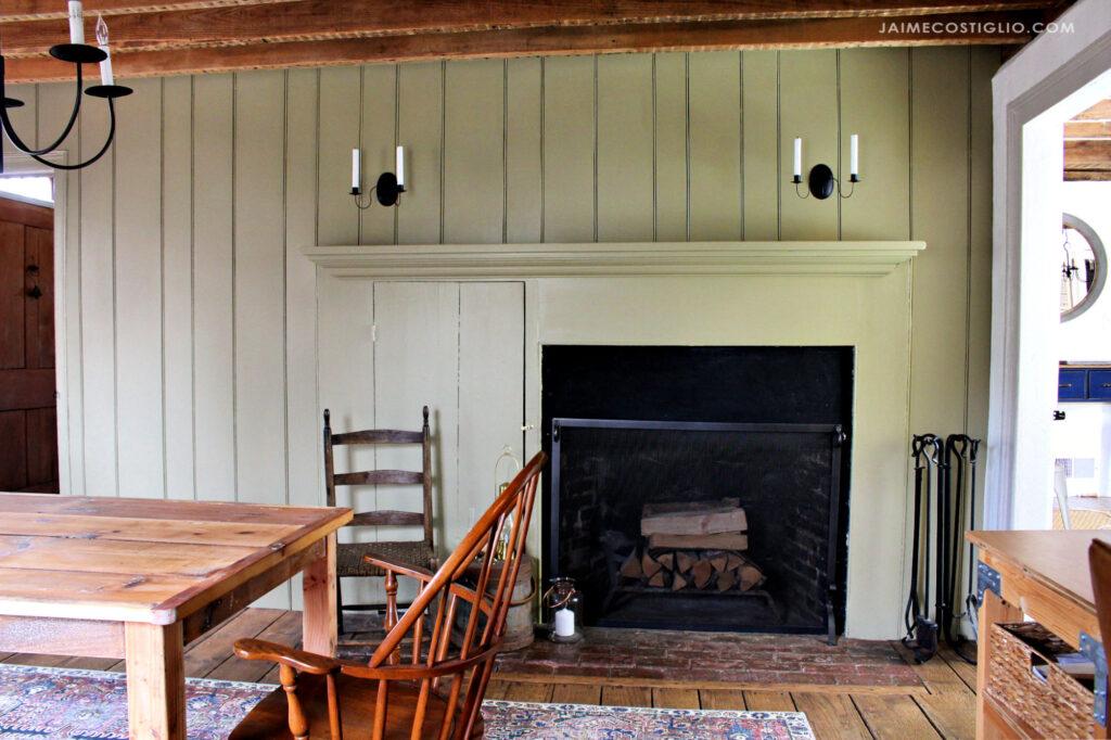 keeping room primitive farmhouse