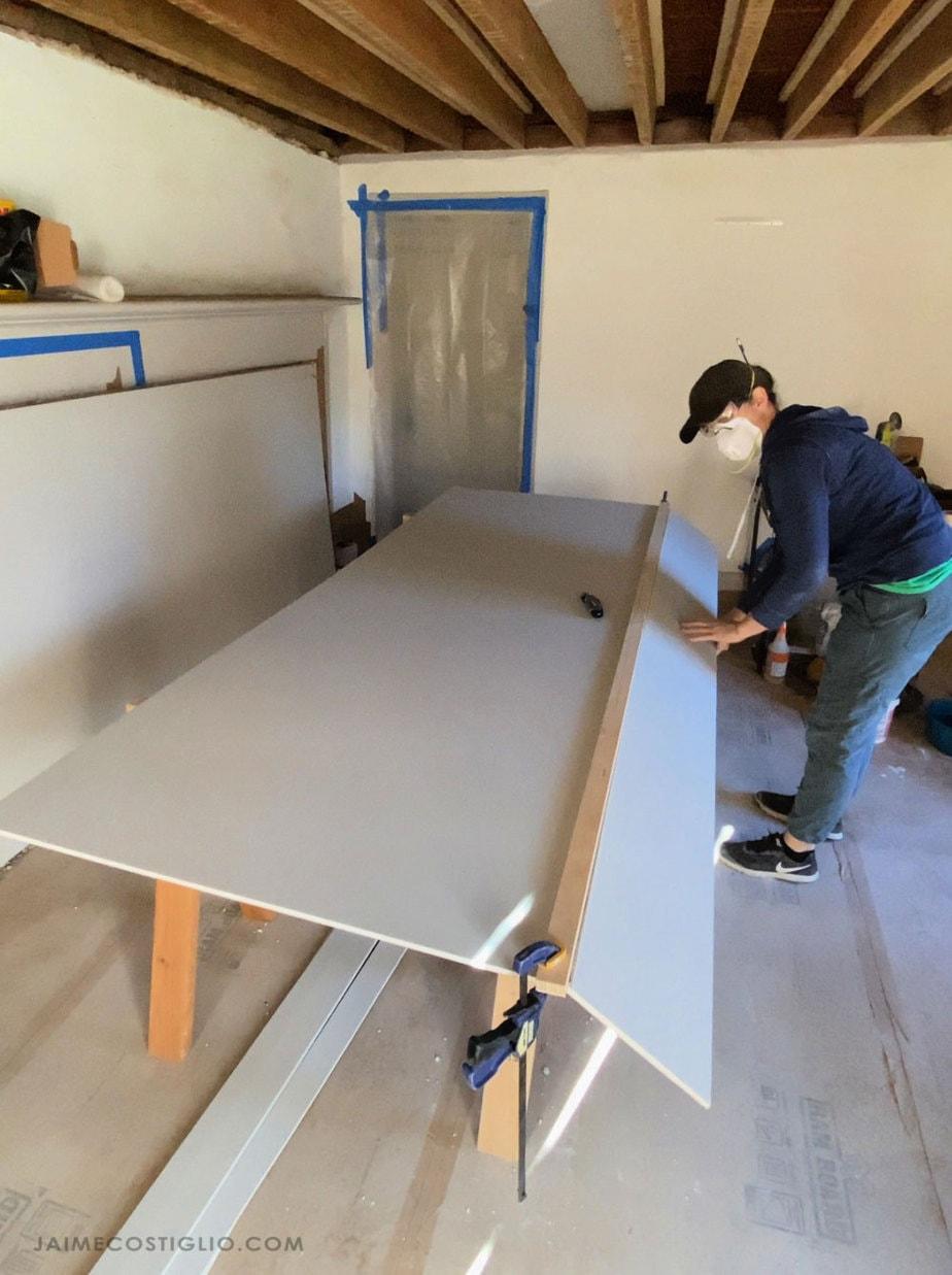 cutting sheetrock