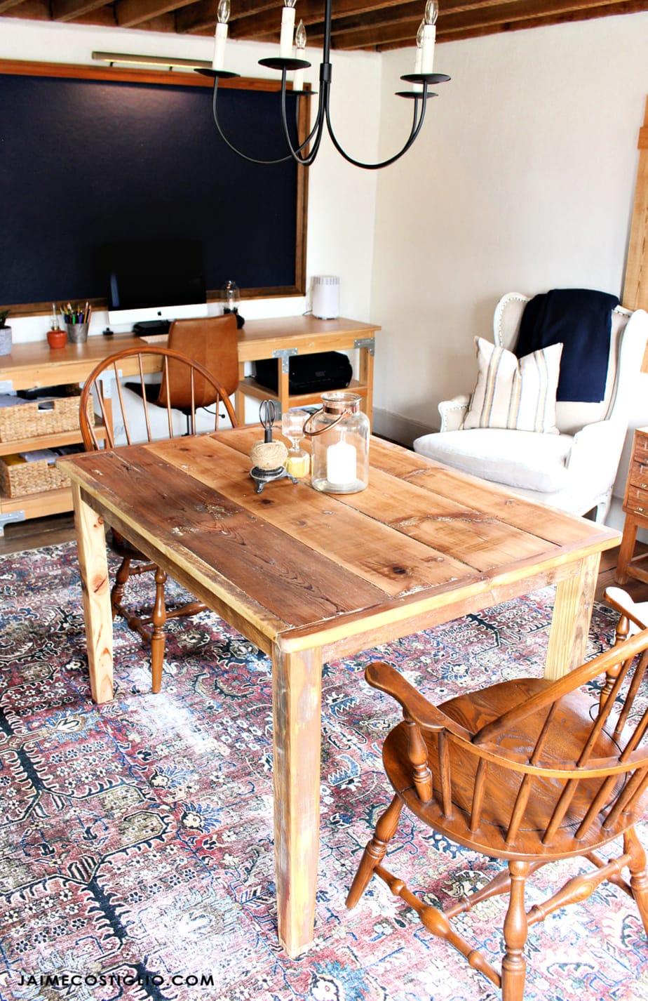Diy shiplap table