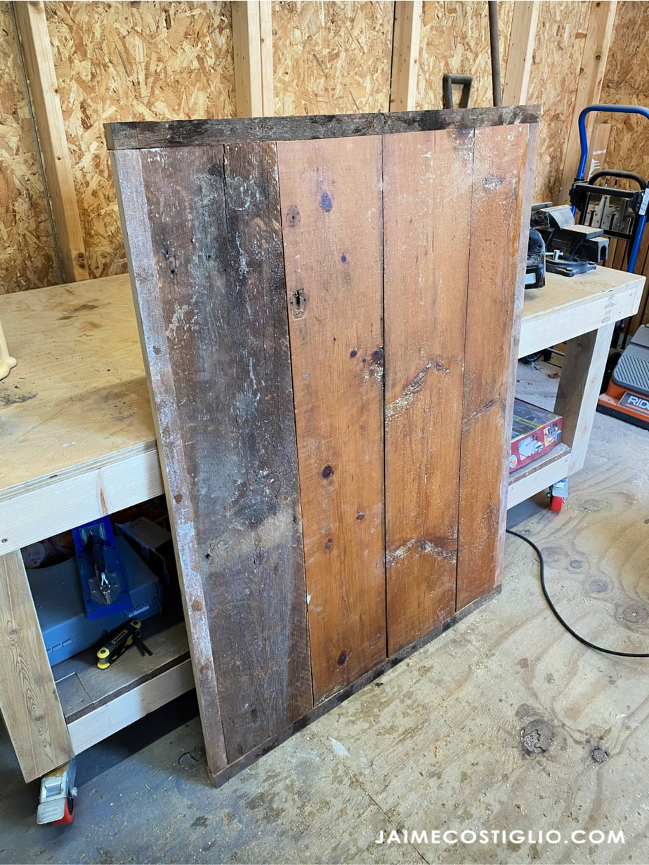 scrap wood table top