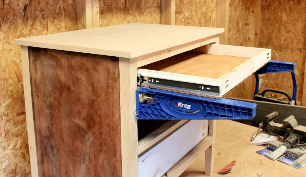 drawer glide jig