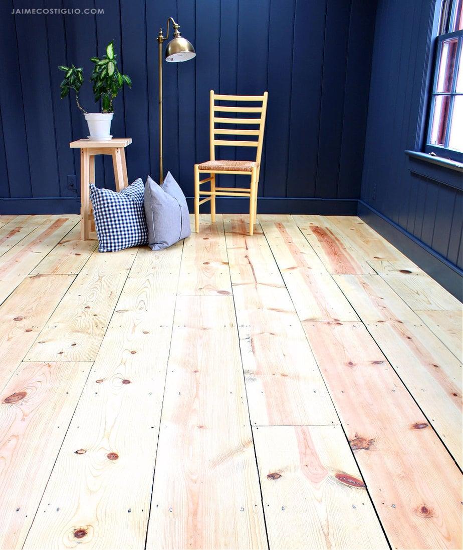 refinished wood floors