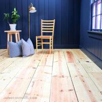 refinishing pine wood floors